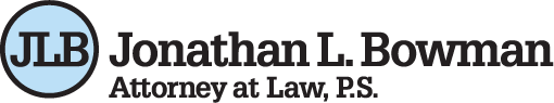 Jonathan L Bowman – Attorney at Law, PS